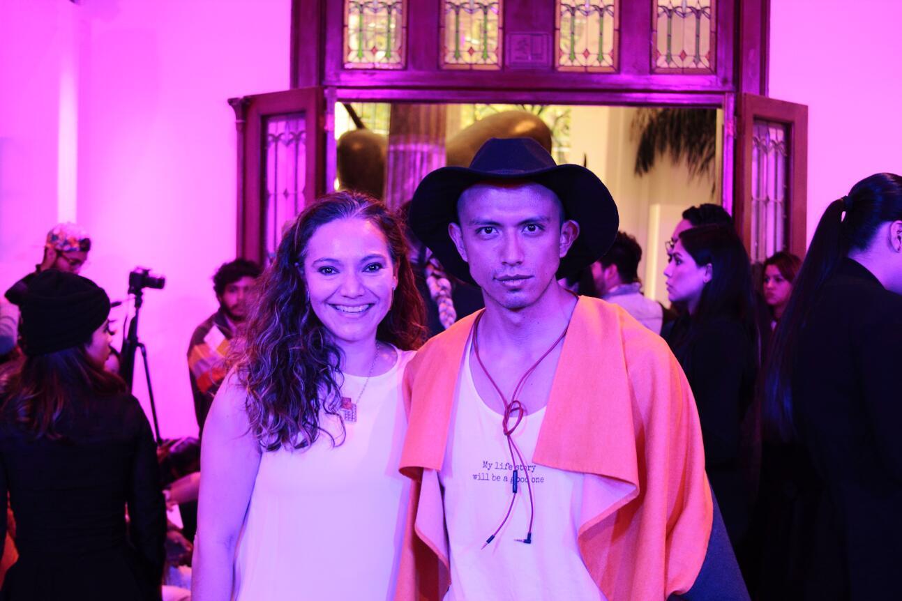 Mariana Barranco y Obed Animas